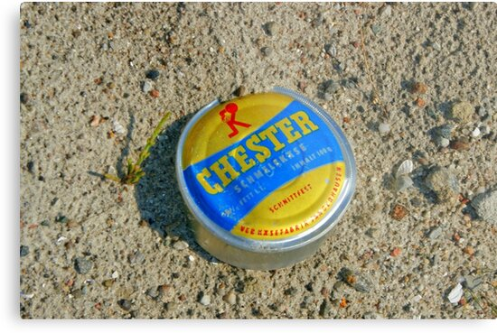 The East German Chester Cheese Can by Remo Kurka