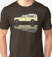 Camper Yellow 80's Truck T-Shirt