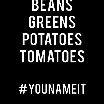 Shirley Caesar Beans Greens Potatoes Tomatoes Song by YYZTees