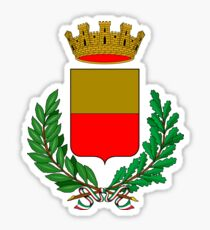 Coat of Arms of Naples, Italy Sticker