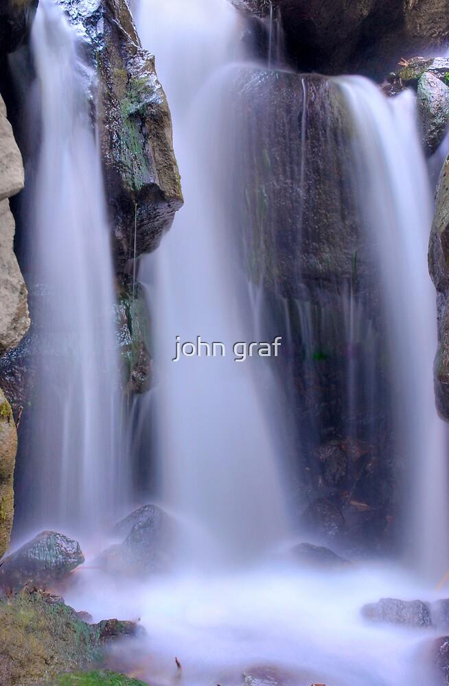 Bouquet Canyon Falls by john graf