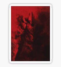 Red Warrior Sticker