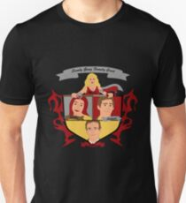 Buffy the Vampire Slayer Scooby Gang Family Crest T-Shirt