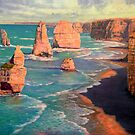 The 12 Apostles, Australia by Fred Marsh
