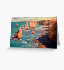 The 12 Apostles, Australia Greeting Card