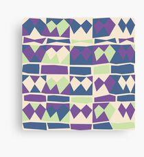Pastel geometry Canvas Print