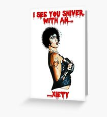 Dr Frank n Furter Greeting Card