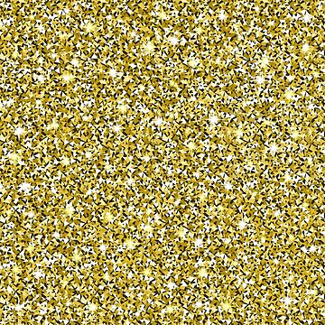 Gold Glitter Seamless Pattern Background by amovitania