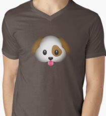 Cute And Cuddly Dog Emoji T-Shirt