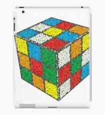 Mosaic Dotted Blur Ribiks Cube Design iPad Case/Skin