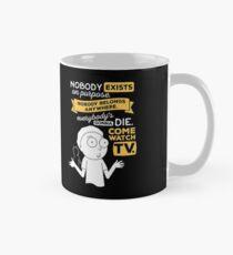 Nobody Exists on Purpose Classic Mug