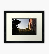 Rural Barn at Sunrise Framed Print
