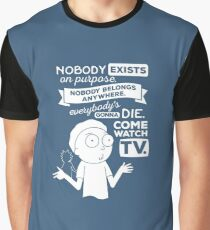 Rick and Morty Schwifty Wubba Lubba Fair Use Nobody Exists on Purpose Graphic T-Shirt