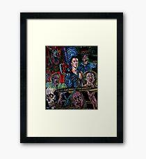 Evil dead 2 : Dead by Dawn Framed Print
