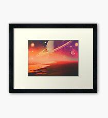 Saturn's Return Framed Print