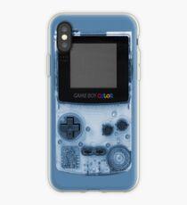 Gameboy Blue iPhone Case