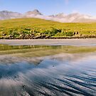 The Cuillin from Glenbrittle Beach by Mark Greenwood