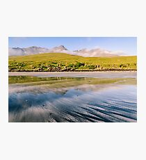 The Cuillin from Glenbrittle Beach Photographic Print