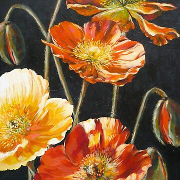 Poppies Too by emgolding