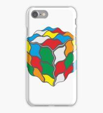 Wavy Water Jelly Rubix Cube Design iPhone Case/Skin