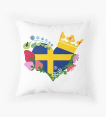 This is the Ornate Swedish Emblem.  Throw Pillow
