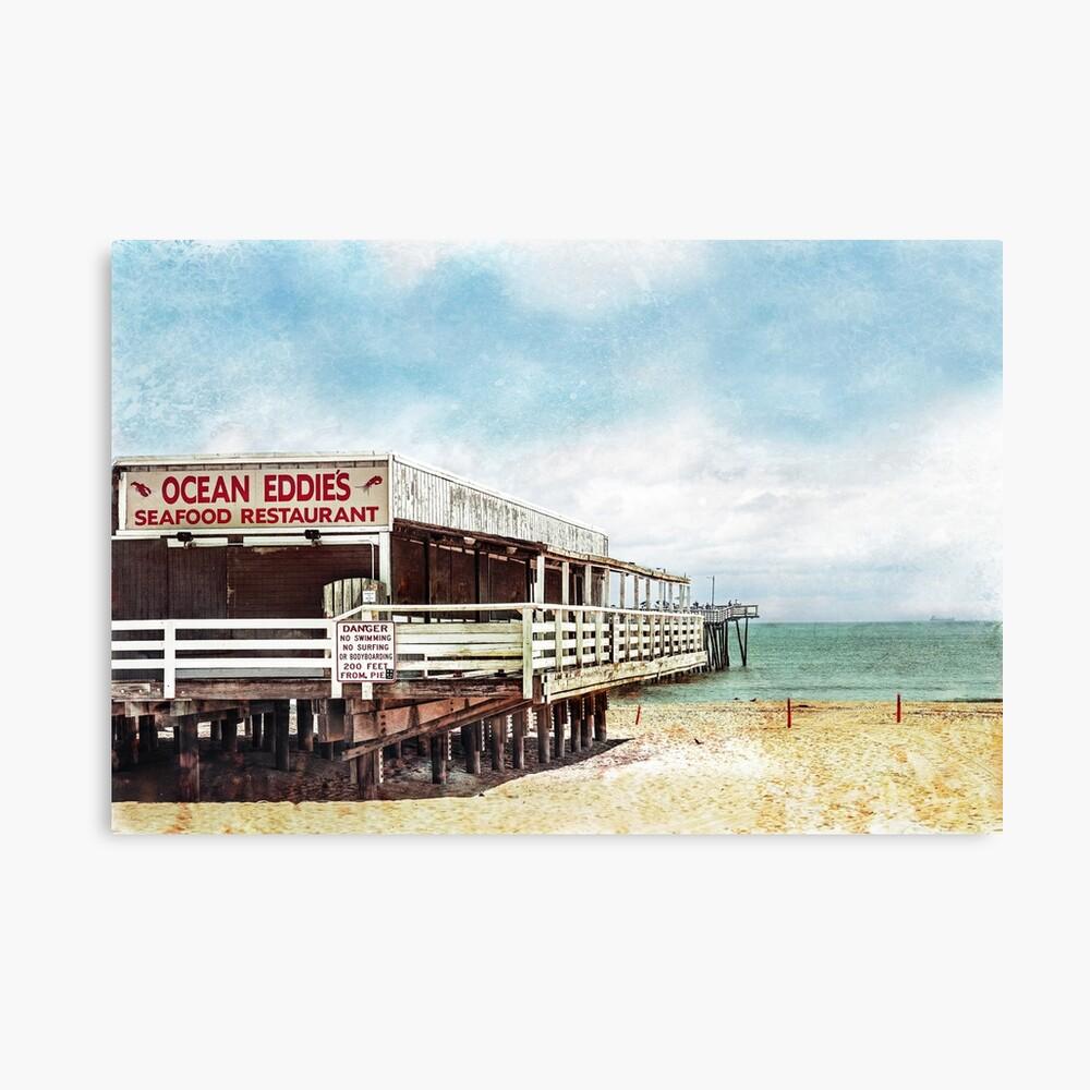 Ocean Eddie's-version 2 Canvas Print