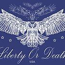 Liberty Or Death - Bald Eagle USA by CentipedeNation