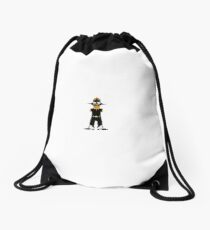 futurist Drawstring Bag