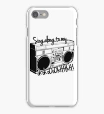 Sing A Long to My Stereo iPhone Case/Skin