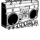 Sing A Long to My Stereo by themarvdesigns