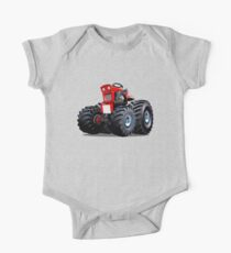 Cartoon Tractor Kids Clothes