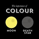 Importance of colour - Moon! by Stephen Wildish