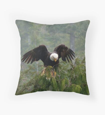 Drying Off II Throw Pillow