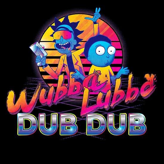 Rick und Morty Neon von Carl Huber
