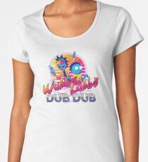 Rick and Morty Neon Women's Premium T-Shirt