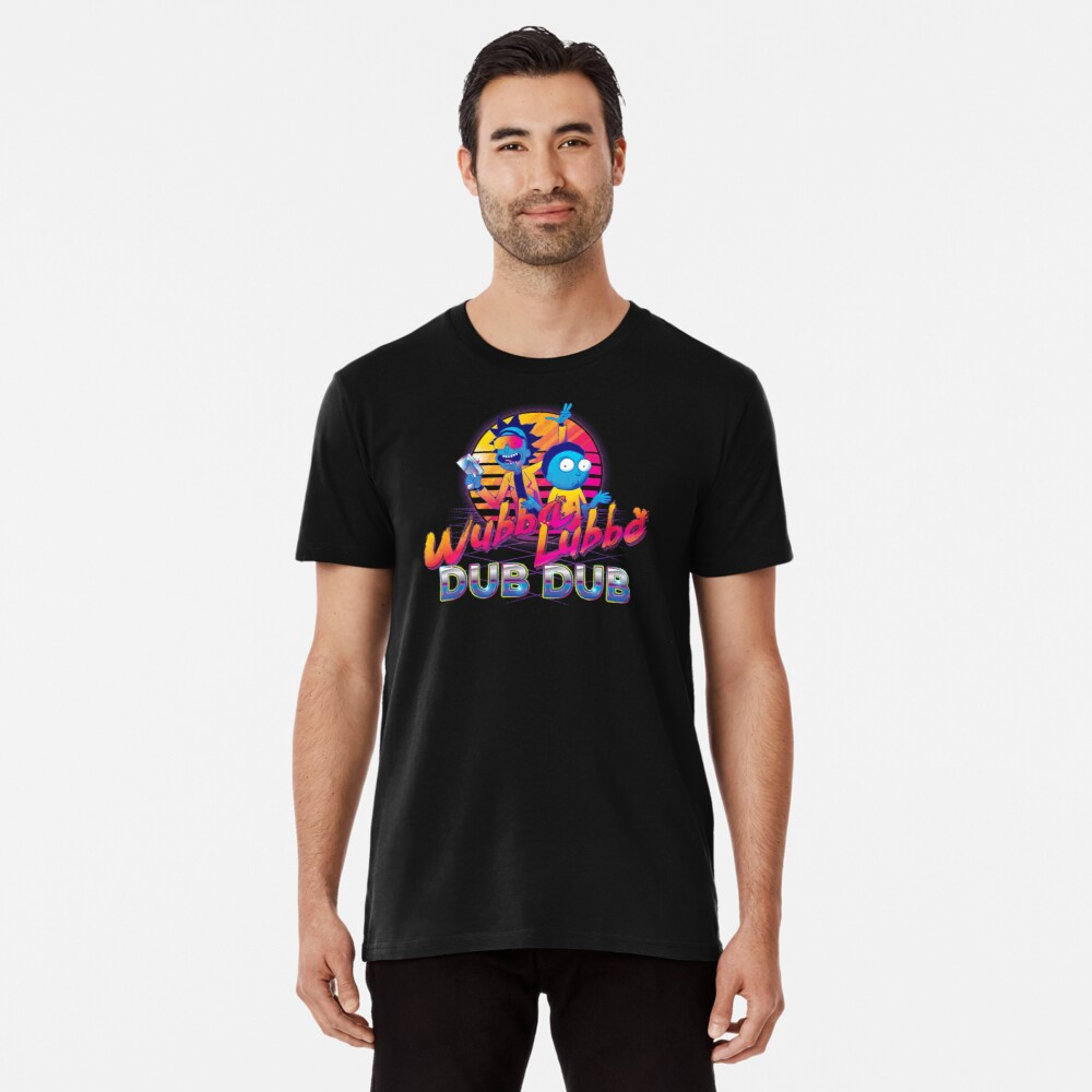 Rick and Morty Neon Premium T-Shirt