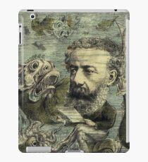 Vintage Jules Verne Periodical Cover iPad Case/Skin