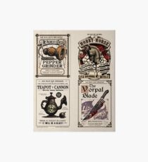 Weapons Cards- Alice Madness Returns Art Board