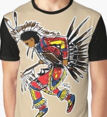 Men's Traditional Dancer Graphic T-Shirt