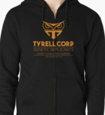 Tyrell Genetic Replicants Zipped Hoodie