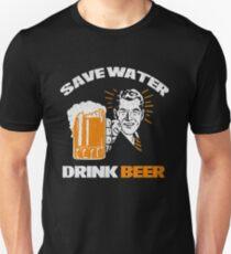 Save water drink beer tee shirt T-Shirt