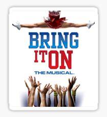 Bring It On Musical Sticker