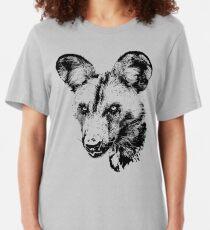 African Wild Dog | African Wildlife Slim Fit T-Shirt