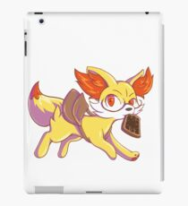 Late for school Fennekin iPad Case/Skin