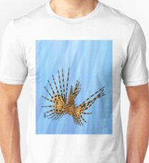 Stained Glass Lionfish Unisex T-Shirt