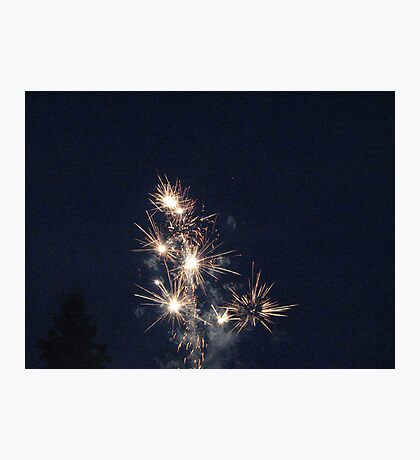 Our fireworks Photographic Print