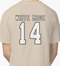 White Mage Sports Jersey FFXIV Classic T-Shirt