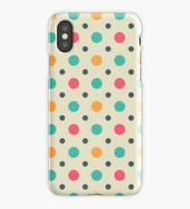 Polka Dots Lover (Color Mixer) Small Art iPhone Case/Skin