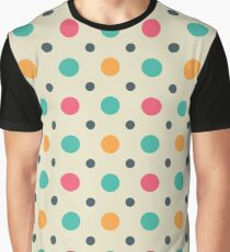 Polka Dots Lover (Color Mixer) Small Art Graphic T-Shirt