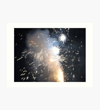 Our fireworks #2 Art Print